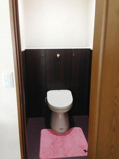 造作家具 トイレ
